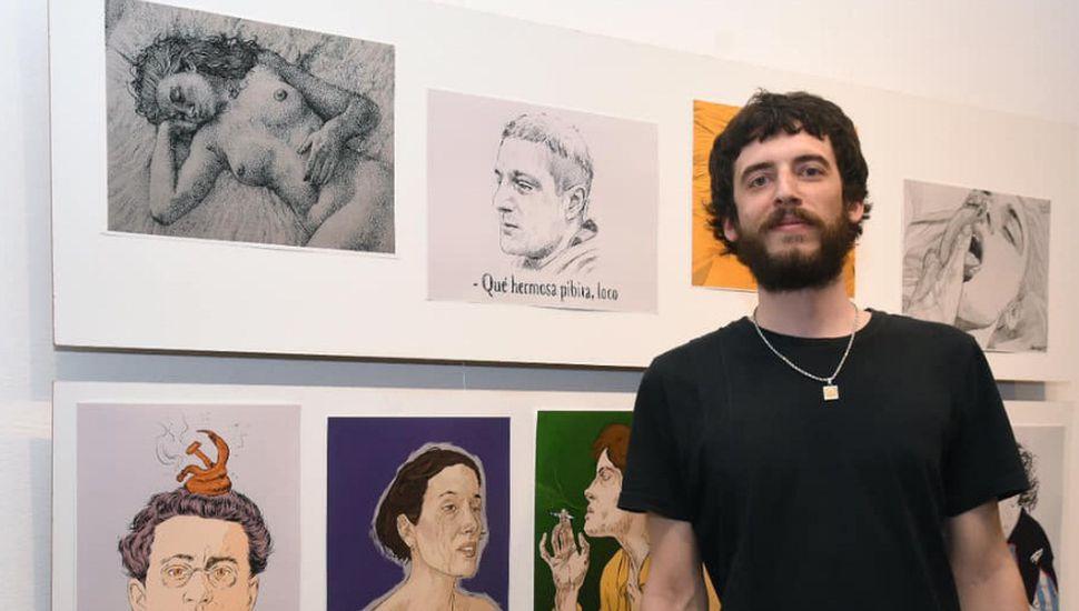 Continúa abierta al público la muestra del artista linqueño Juangre Hauciartz