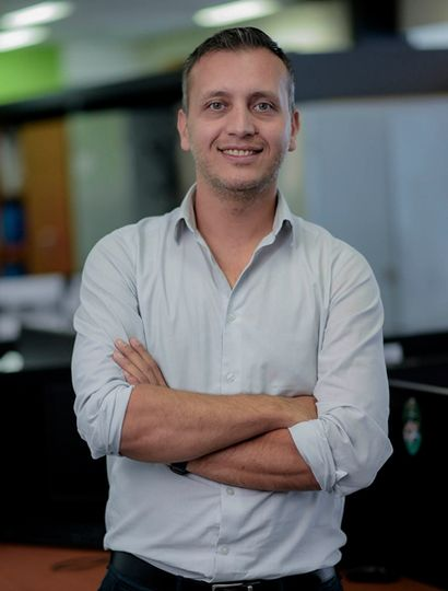 Javier Lovera, subsecretario de Deportes de la provincia de Buenos Aires.