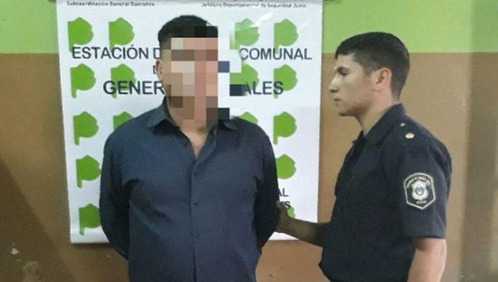 Detuvieron a un hombre por robo en Arenales