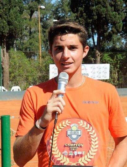 Santiago Rodríguez Taverna se coronó  campeón del torneo de profesionales