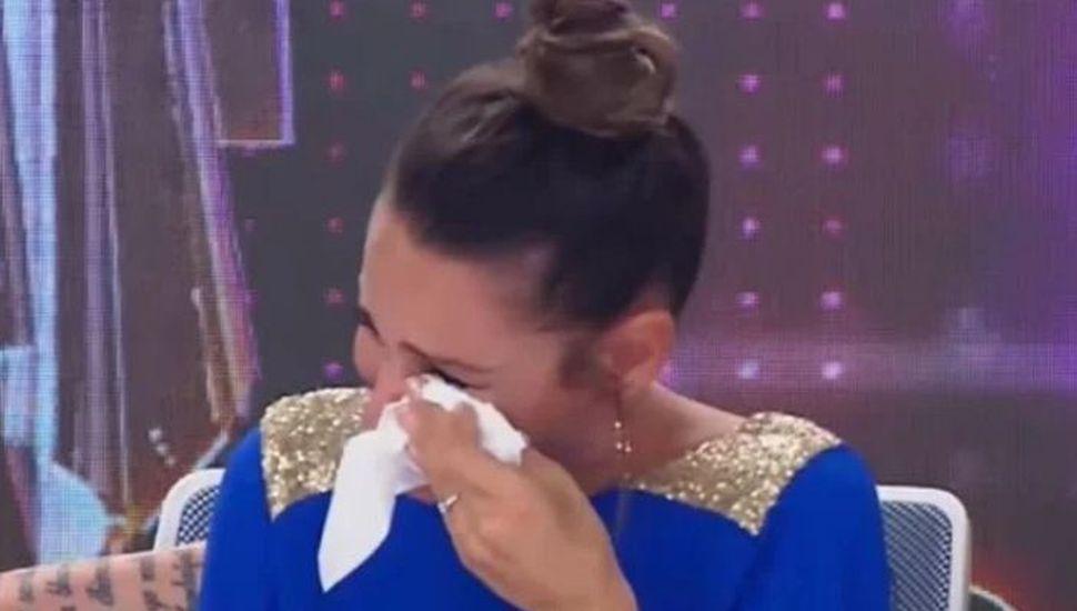 ¿Por qué Pampita lloró desconsoladamente en pleno Bailando?