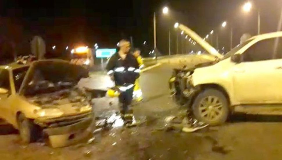 Un bebé falleció en un accidente en el acceso a Leandro N. Alem