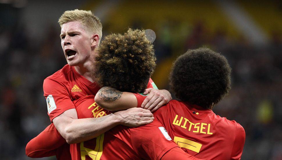 Bélgica le remontó a Japón 3 a 2 y se medirá con Brasil en cuartos de final