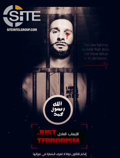 Aseguran que ISIS amenazó atacar el Mundial de Rusia con una foto de Lionel Messi sangrando