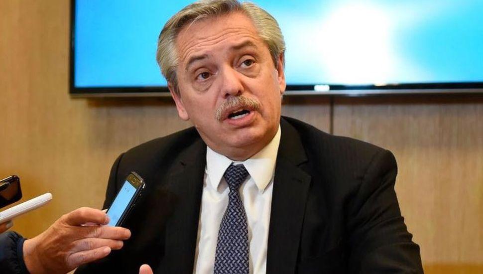 """Alberto Fernández criticó la quita del IVA para alimentos esenciales: """"Será más ganancia para las empresas"""""""