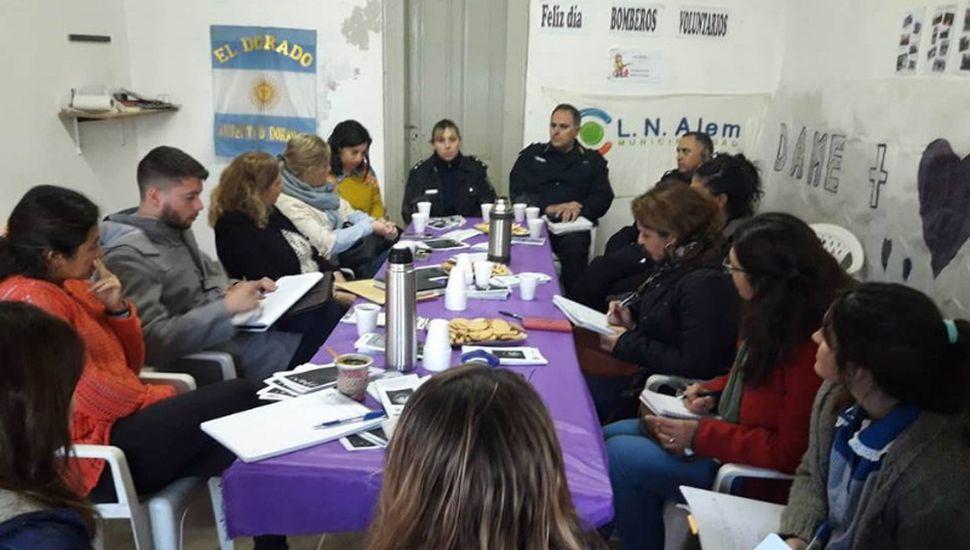 Se realizó una nueva reunión de la mesa intersectorial de violencia en El Dorado