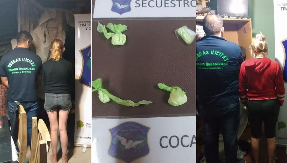 Realizaron allanamientos en Chacabuco por venta de drogas