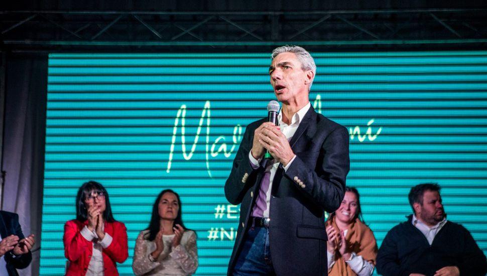 Mario Meoni, precandidato a intendente de Junín por el Frente de Todos.