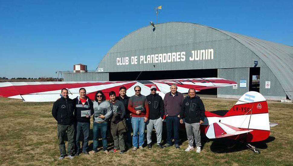 La dirigencia del Club de Planeadores Junín prepara el regreso a las actividades. (foto de archivo)