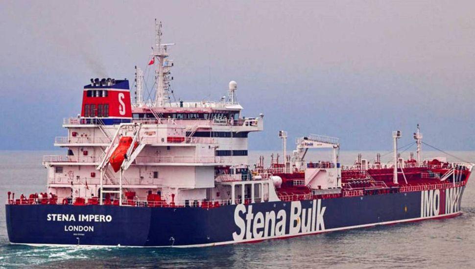 Irán capturó un buque y desmintió a Donald Trump