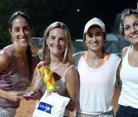 Florencia Sofía, Milagros Liggera, Ana Iannone y Tatiana Corro, participantes del torneo.