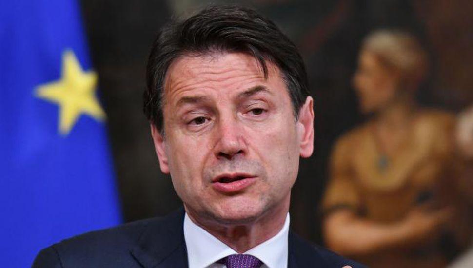 El primer ministro de Italia amenazó con renunciar