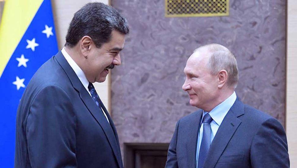 """Rusia afirmó que trabaja con Venezuela para una """"salida constitucional"""""""