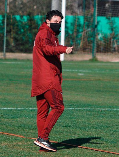 Entrenador Marcelo Gallardo.