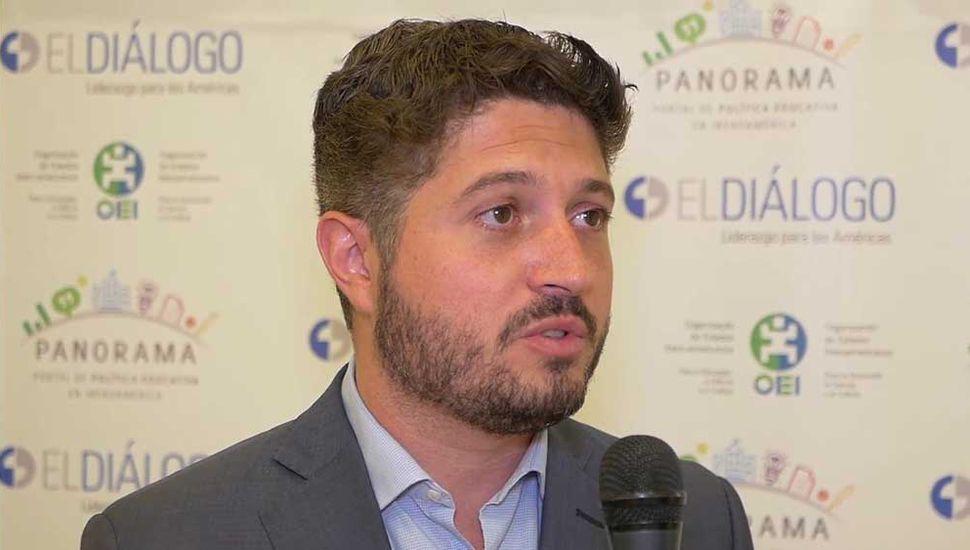 Sergio Siciliano, subsecretario de Educación bonaerense.