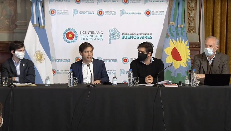 """Kicillof y la cuarentena: """"No aceptaremos ninguna presión que genere falsas expectativas"""""""