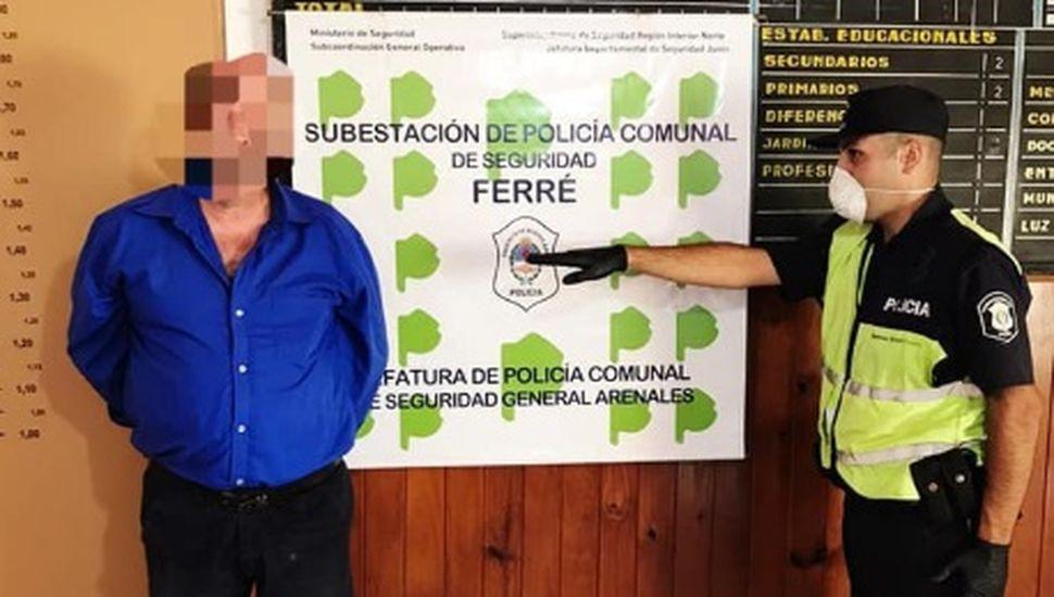 23 detenidos por violar la cuarentena en Arenales