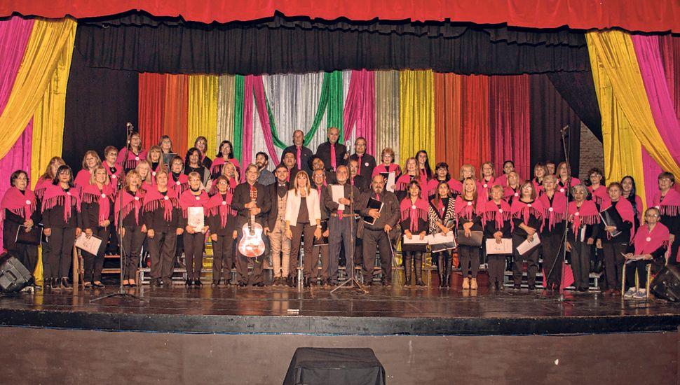 Coro Panambí, integrantes de 2019.