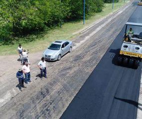 Rojas: se terminó la repavimentación de la avenida Fuerte Federación
