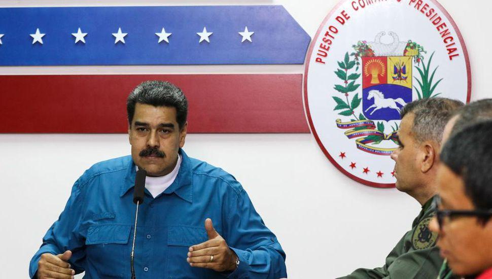 Maduro anunció el  inicio de 30 días de racionamiento eléctrico