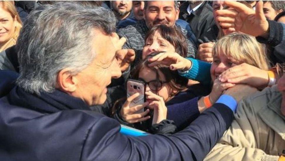 Mauricio Macri salió a recuperar votos con una acción en Rosario