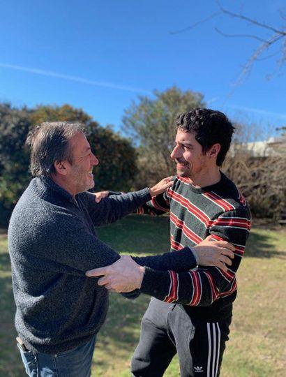Patricio García y Esteban Lamothe.