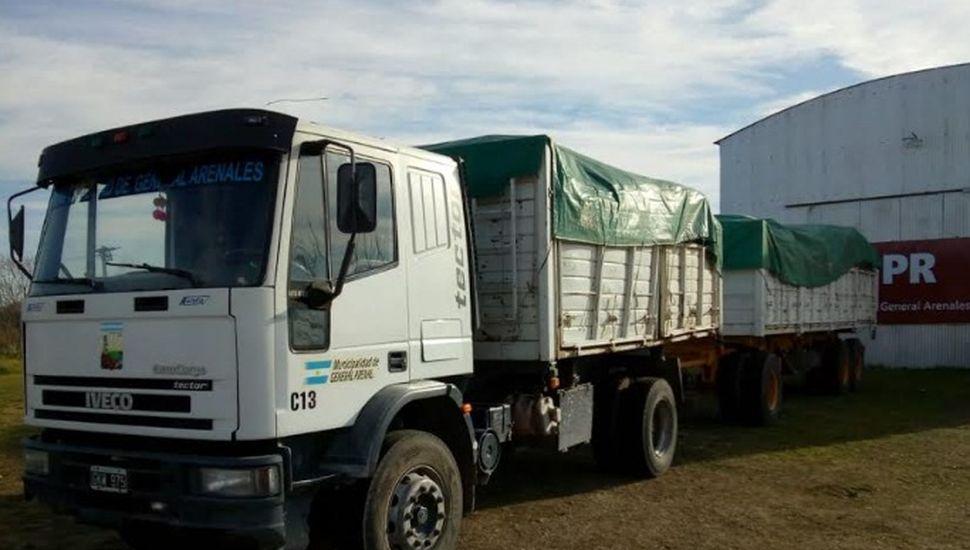 Partió un nuevo camión con 3000 kilos de material reciclable en General Arenales