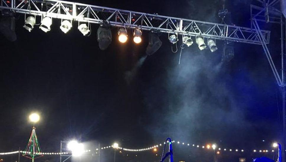 Estelares actuaron el pasado domingo en Maipú.