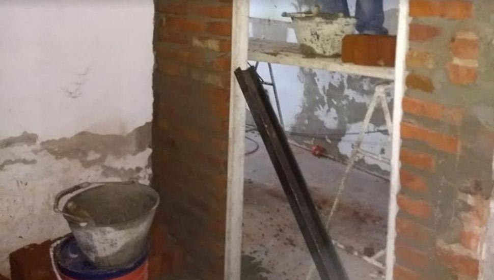 Continúan las remodelaciones en el Polideportivo municipal
