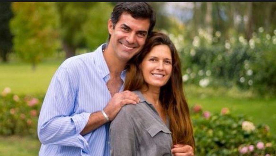 Isabel Macedo y Juan Manuel Urtubey mostraron la carita de su hija recién nacida