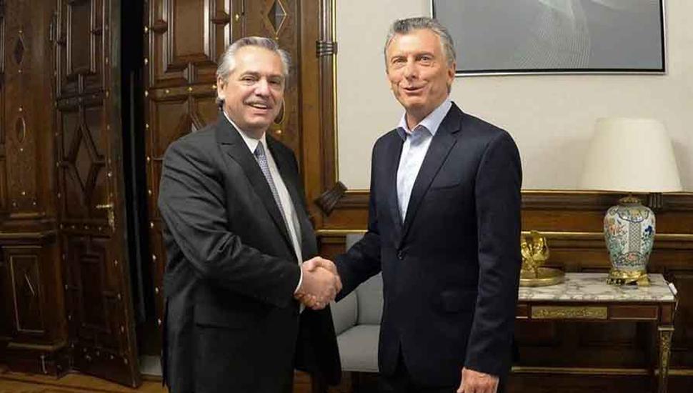 Macri y Alberto dialogaron sobre la situación de Bolivia