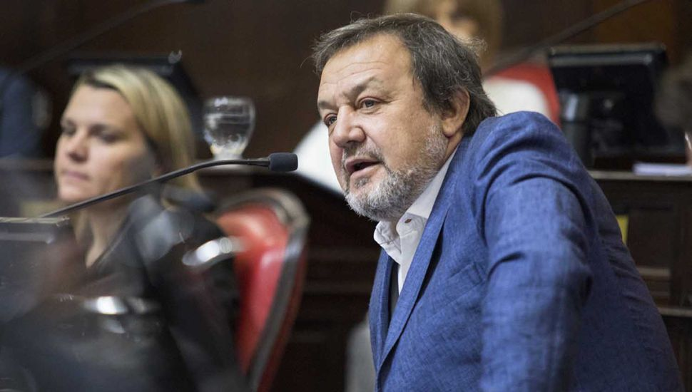 Roberto Costa, presidente del bloque de senadores de Juntos por el Cambio.