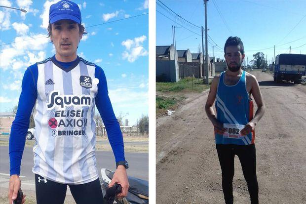 Oscar Cabral ganó la primera Carrera Virtual