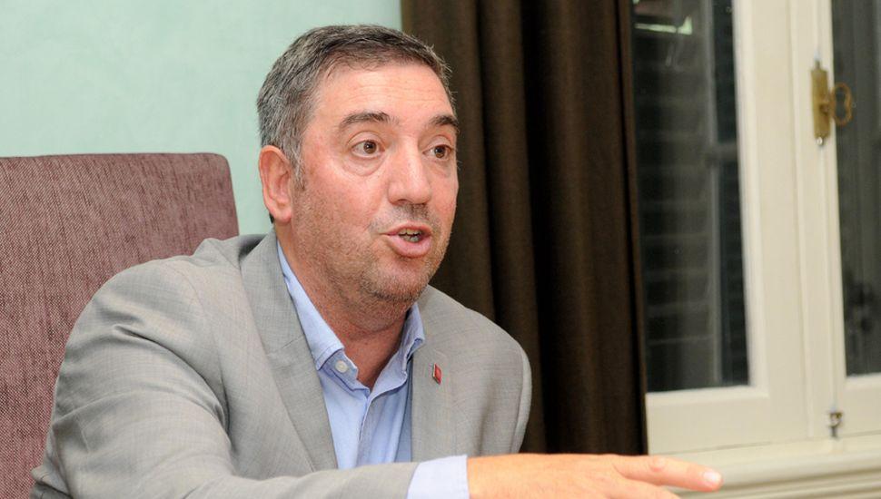 El rector de la Unnoba, Guillermo Tamarit, uno de los adherentes.