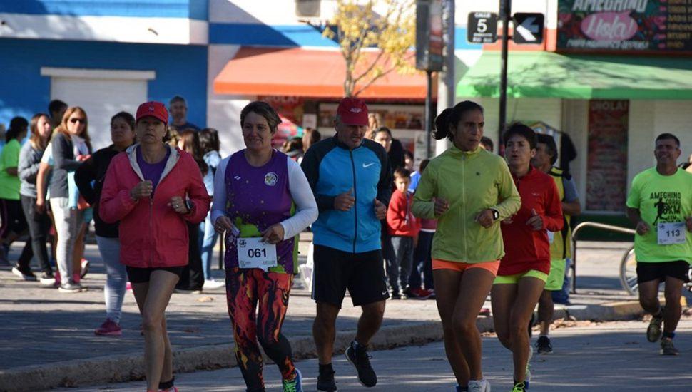Se desarrolló la maratón Ameghino Corre 2019
