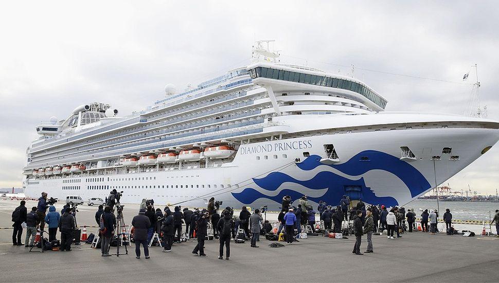 Coronavirus: no están infectados los  argentinos a bordo del crucero japonés