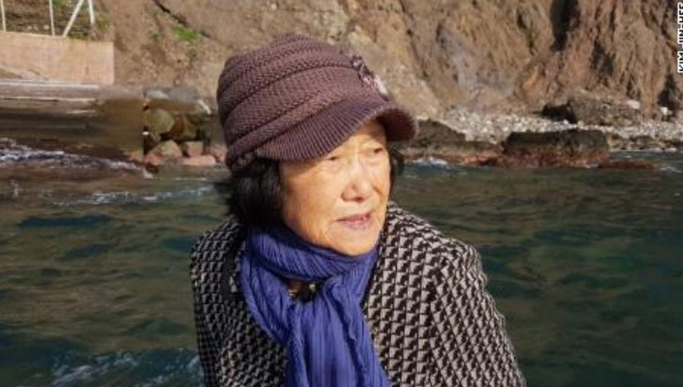 La emocionante historia de una mujer de 81 años que vive sola en una isla entre Japón y Corea del Sur