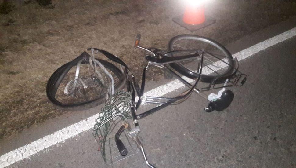 Identificaron al ciclista que falleció en un accidente en el acceso a Agustín Roca