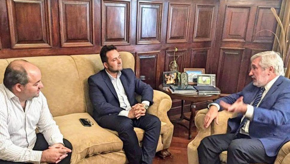 Víctor Aiola se reunió con el procurador general de la Provincia