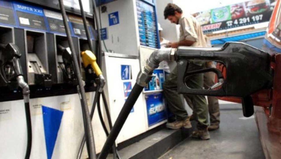 Combustibles con aumentos