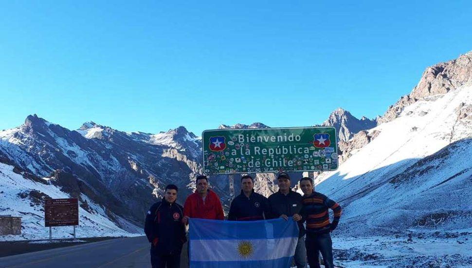 En 2018,  miembros del cuartel viajaron a Estados Unidos y a Chile.