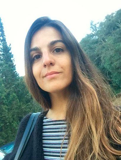 Lucia Portiglia se encontraba en Barcelona.