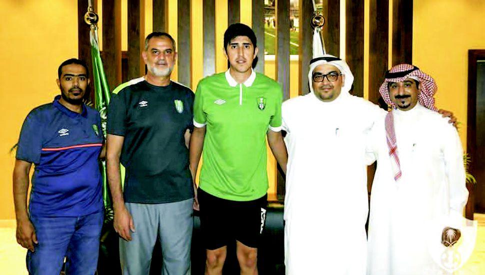Pablo Bengolea jugará nuevamente en Arabia Saudita