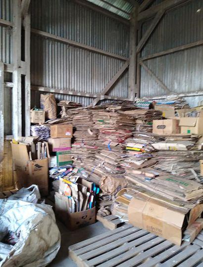 La recolección de materiales por parte de Arribeños Recicla fue reactivada.