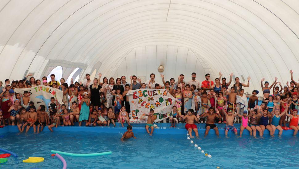 Más de 1.000 chicos participan de las escuelas de verano en Junín