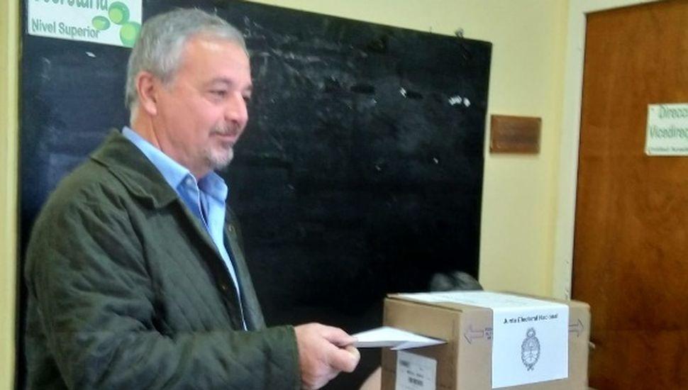 Así voto el intendente de Rojas Claudio Rossi