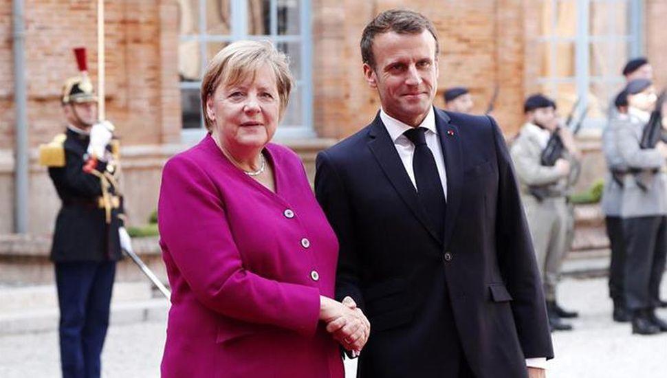 Brexit: Macron y Merkel creen que es inminente un acuerdo