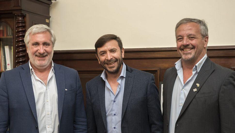 Firman convenios de cooperación entre el Ministerio Público de la Provincia y el Municipio de Rojas