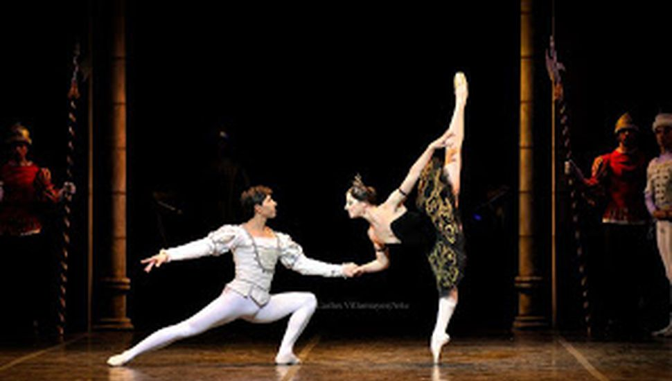 Velada de ballet en el Teatro Italiano de Chacabuco