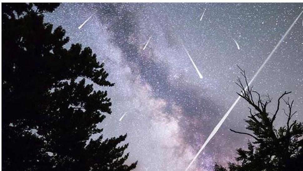 """Este sábado se podrá ver la lluvia de estrellas Oriónidas, la """"más hermosa del año"""""""